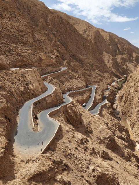 le strade in Marocco