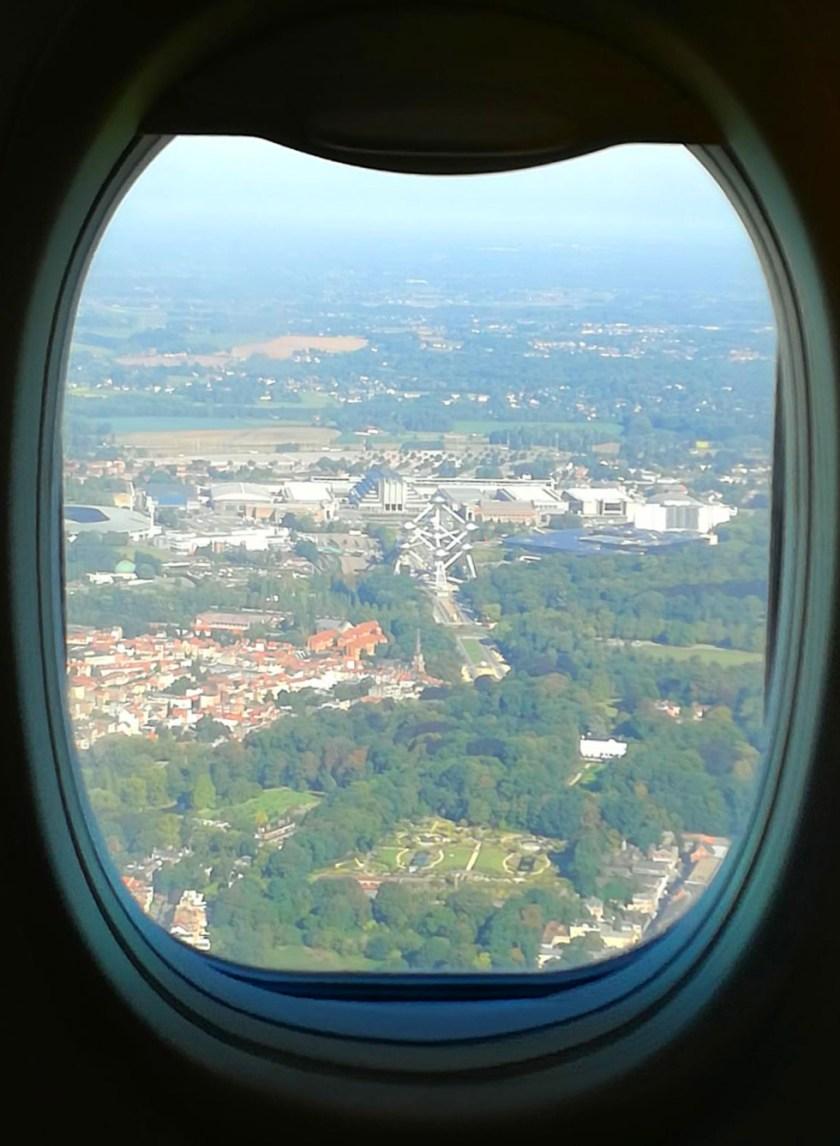 Atomium-da-aereo