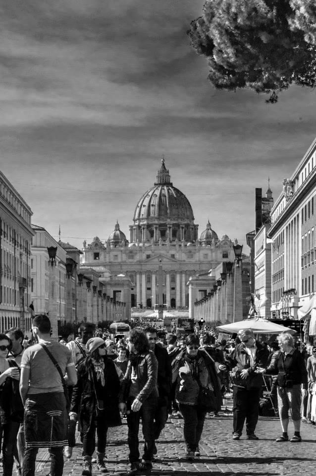 roma bellissima città a natale