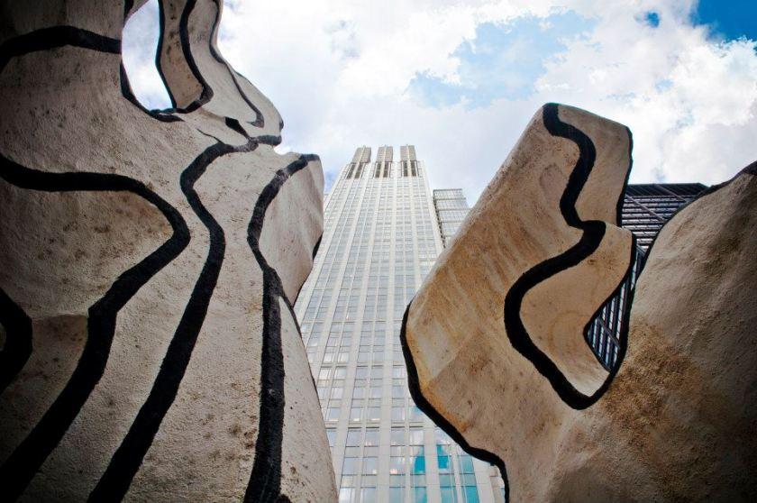 Installazione artistica a Chicago