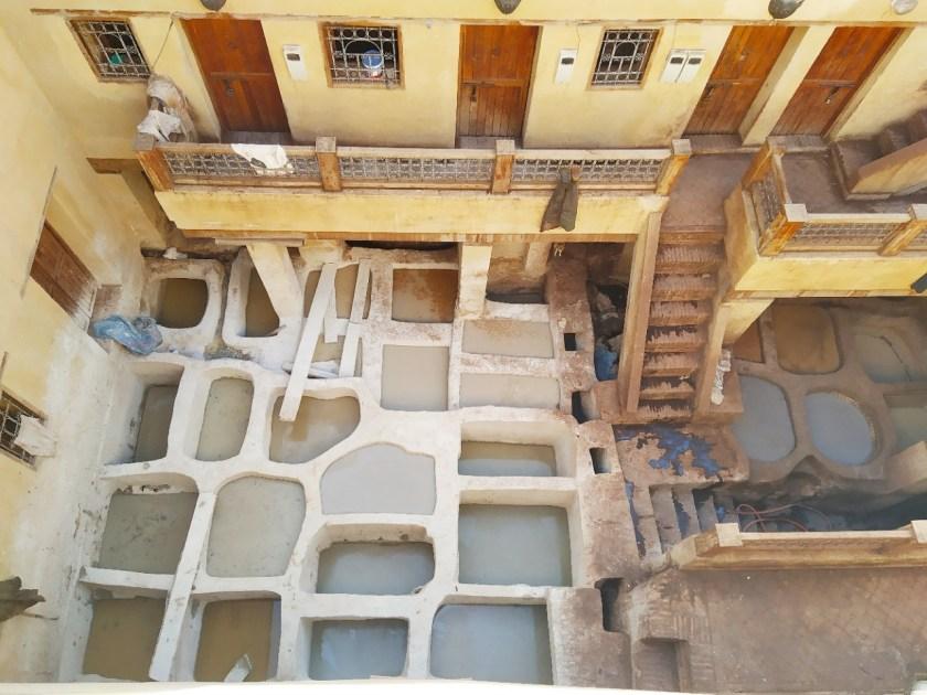 le concerie di Fez Marocco