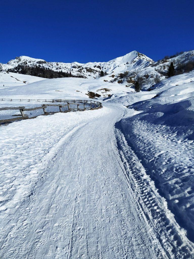 escursione ai piani di artavaggio inverno