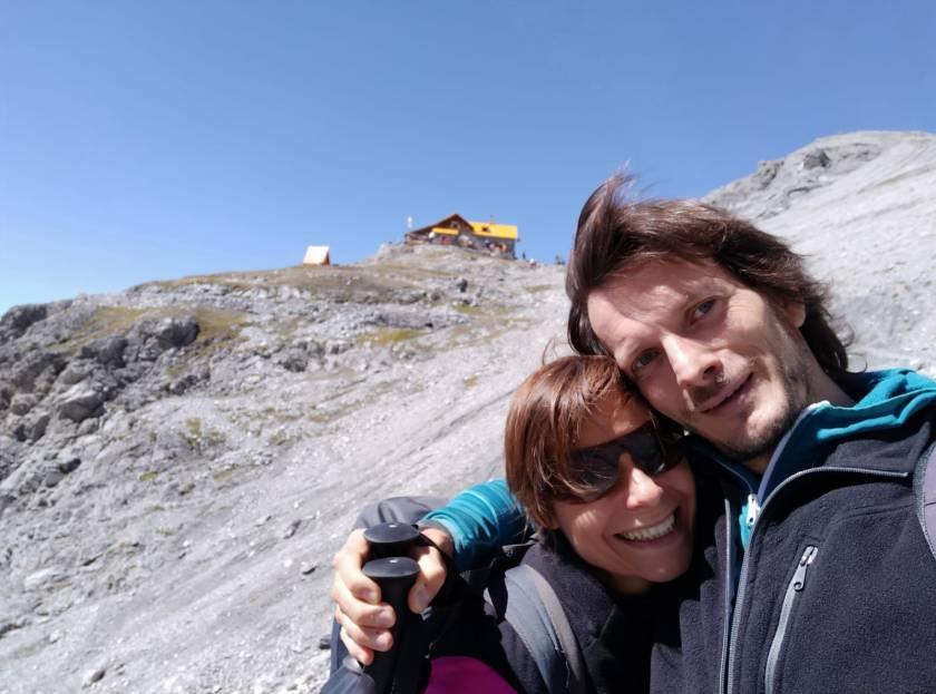 I Viaggiatori per Caso al Rifugio 5° Alpini