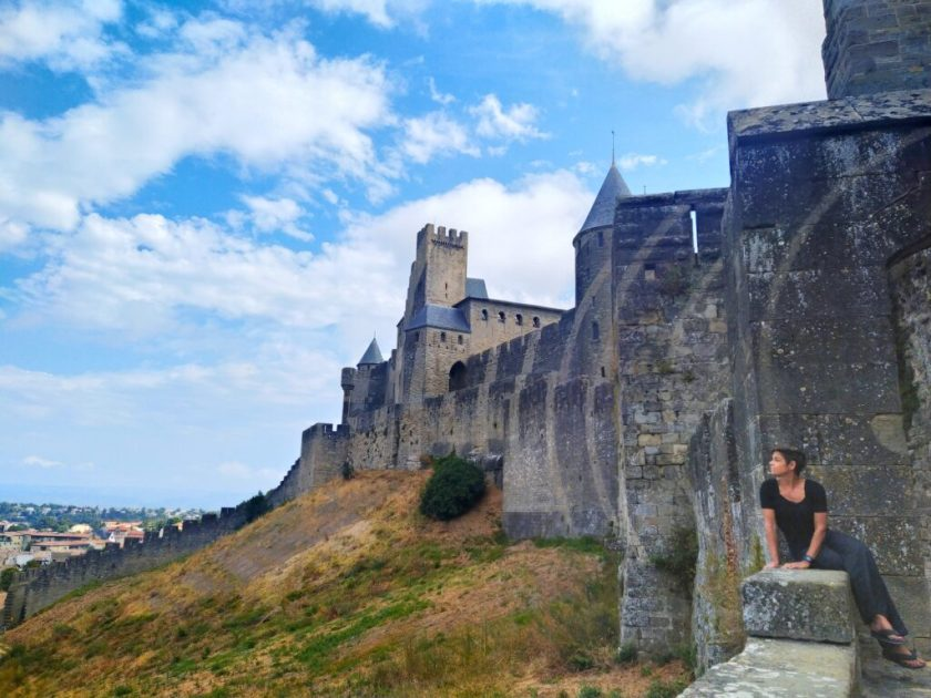 Visitare Carcassonne - Itinerario in Francia on the road