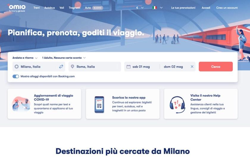 Viaggiare in treno con Omio - Treni Milano Roma - Viaggiatori per Caso
