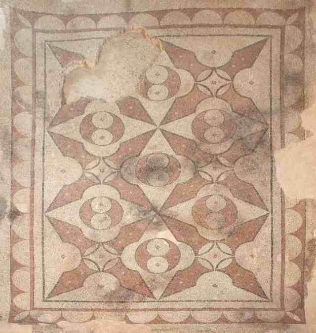 Villa dei Mosaici di Spello, Sala delle Anfore