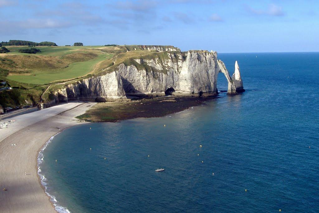 Le falesie della Bretagna: d'Amont e d'Aval