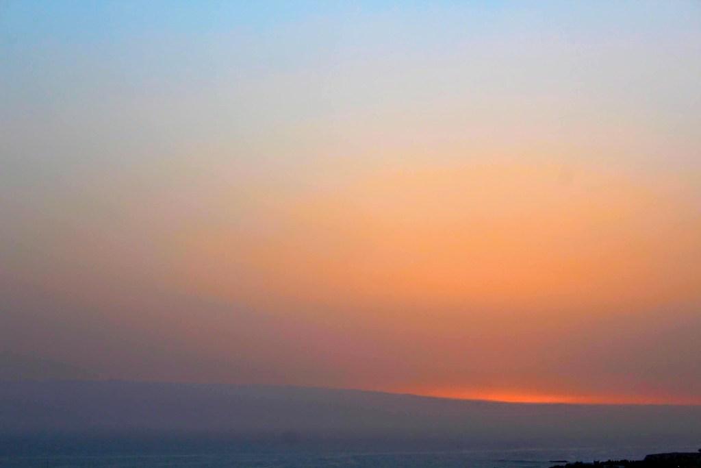 tramonto tenerife