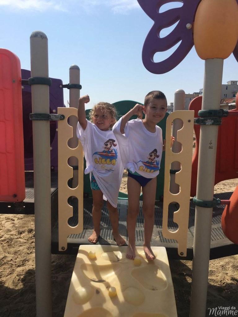 Vacanza a Bellaria Igea Marina: cosa fare coi bambini -giochi in spiaggia-