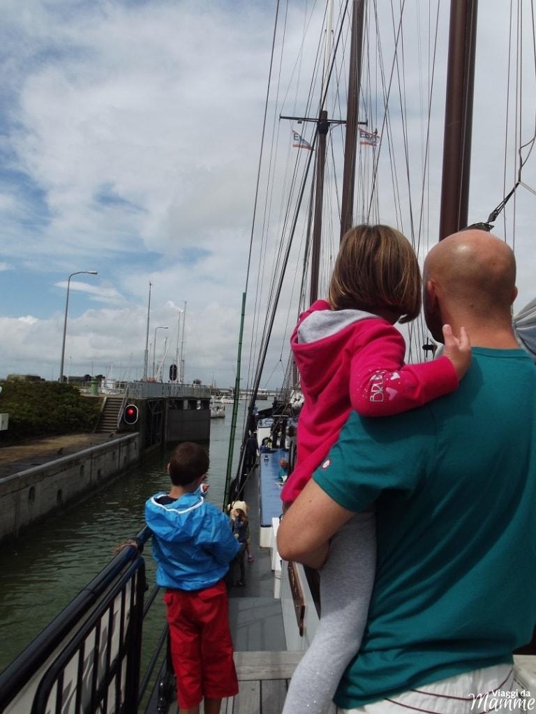 Vacanza in Olanda: tour in barca e bicicletta con bambini