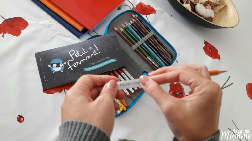 Etichette adesive e termoadesive Petit-Fernand: un aiuto per le mamme