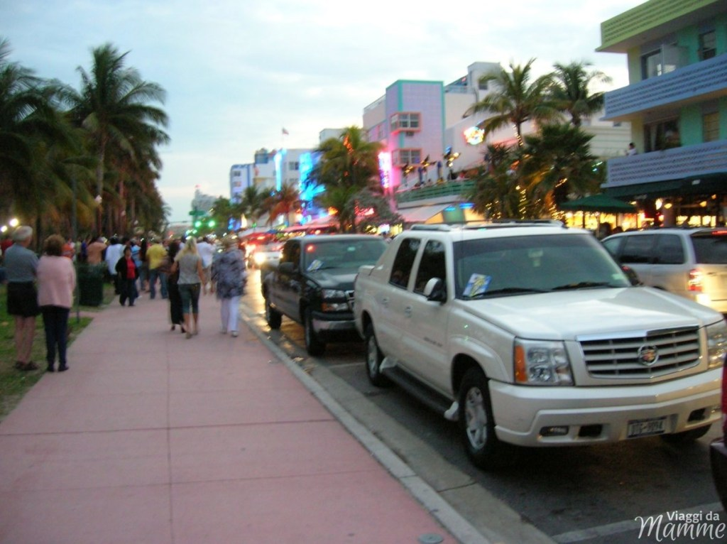 Florida con bambini: Miami e Key West più Disney World -Ocean Drive, Miami Beach-
