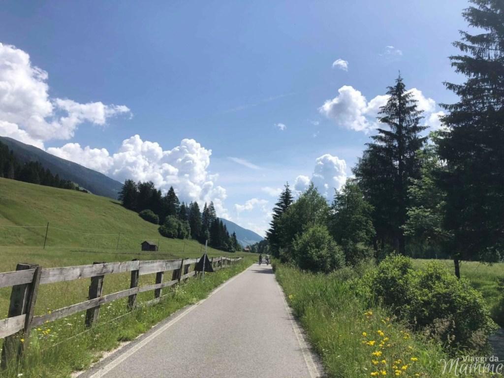 Alta Val Pusteria con bambini: cosa fare e cosa vedere -Ciclabile San Candido Lienz-