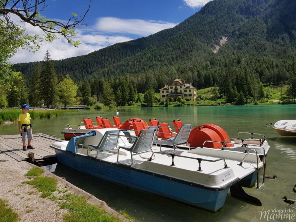Alta Val Pusteria con bambini cosa fare e cosa vedere -Lago di Dobbiaco-