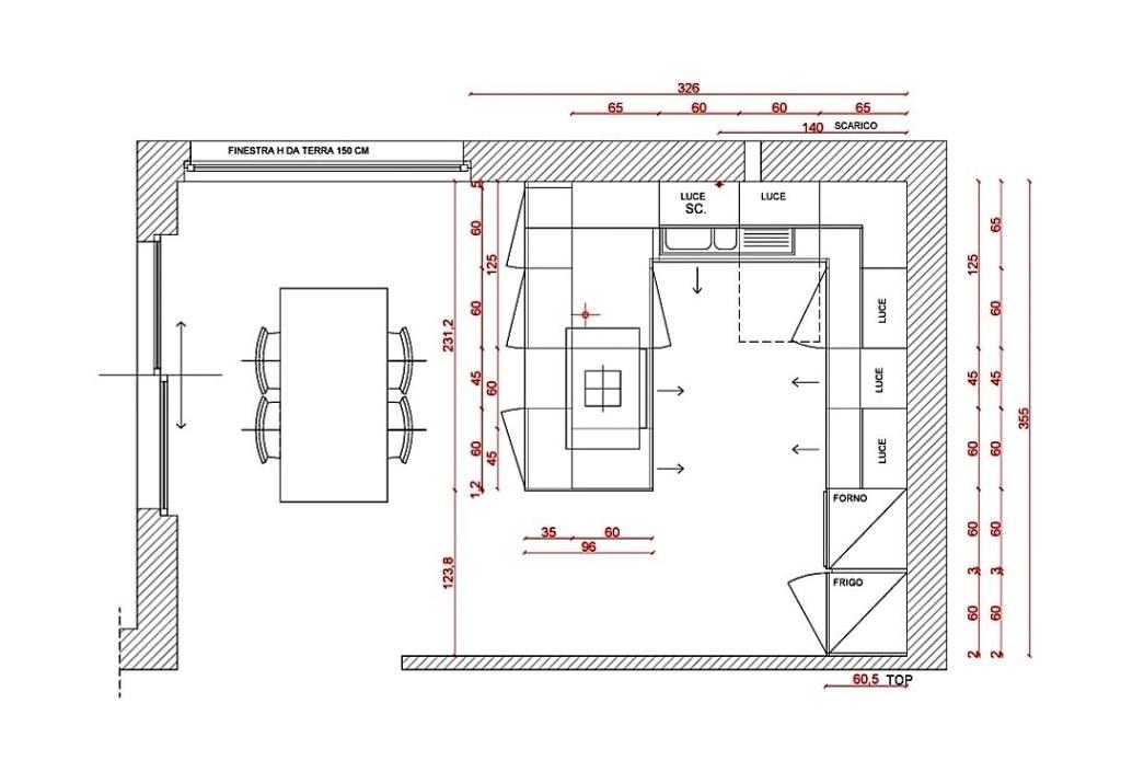 Come scegliere la cucina ideale - mio progetto composizione cucina angolare con penisola-