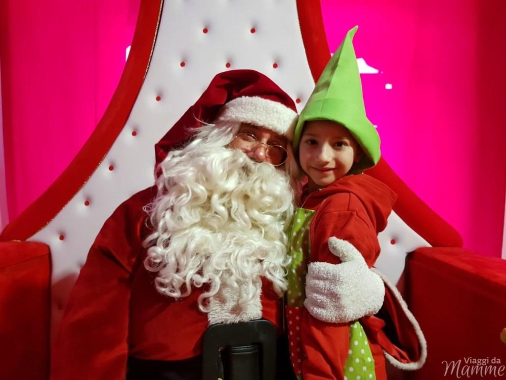 Casa di Babbo Natale a Riva del Garda e Accademia degli Elfi -Andrea aiutante di Babbo Natale-