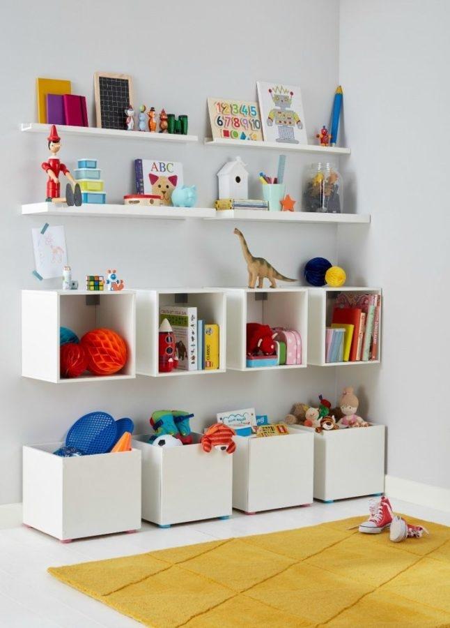 10 modi per organizzare i giochi con poco spazio