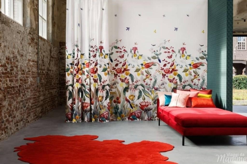 Tende Christian Fischbacher -disegni floreali-