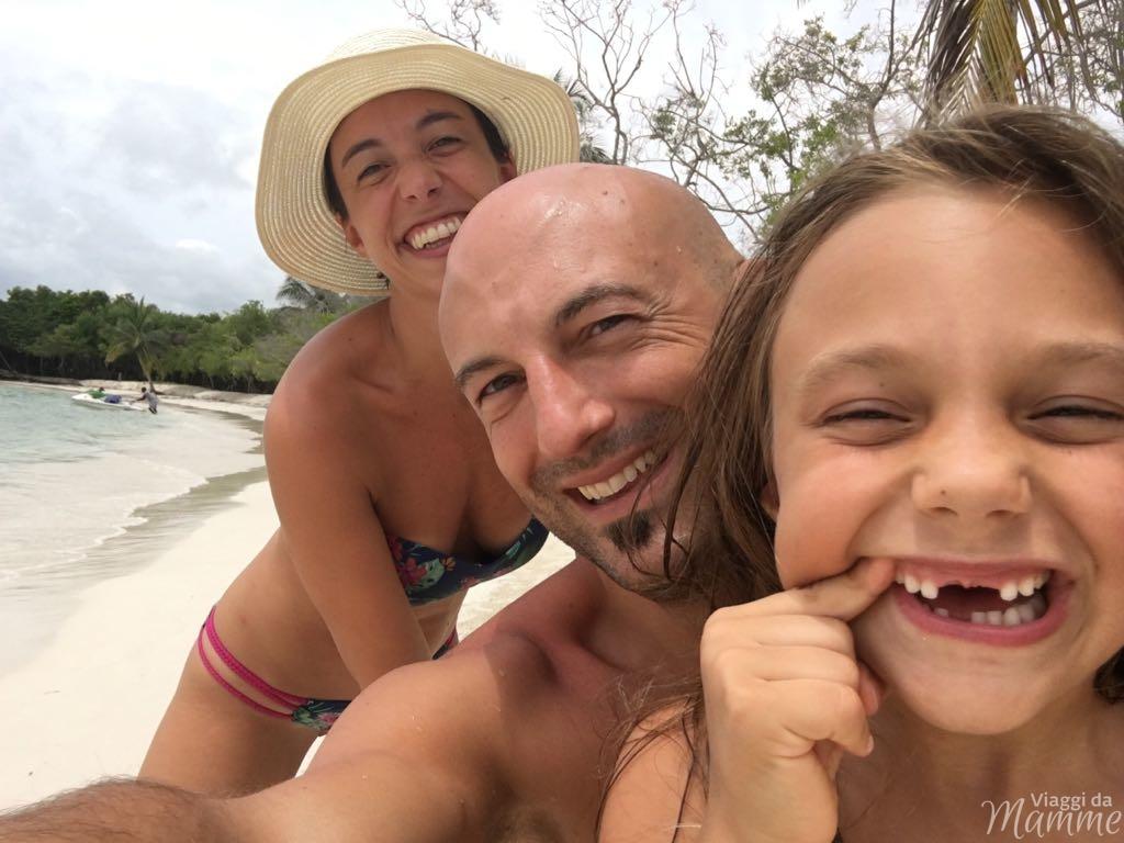 Viaggio in Colombia con bambini lungo la costa caraibica -Playa Azul
