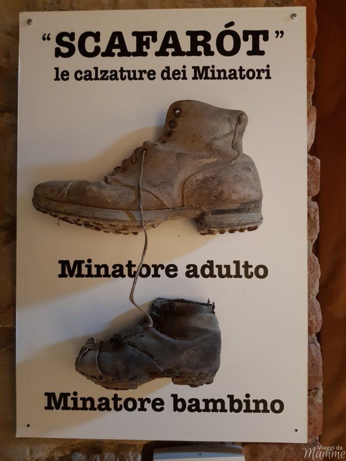 Basso Monferrato: visita al Museo Etnografico a Coniolo -calzature dei minatori