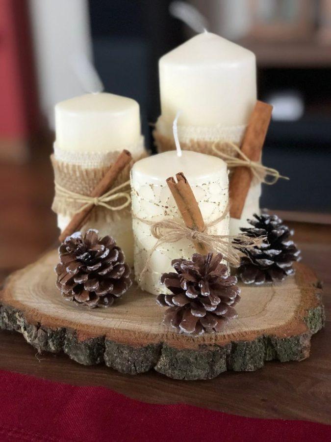 Addobbare casa per Natale: le decorazioni della tradizione - centrotavola natalizio -