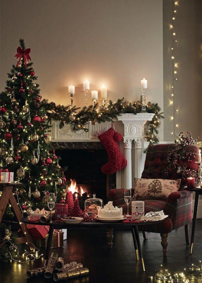 Addobbare la casa a Natale