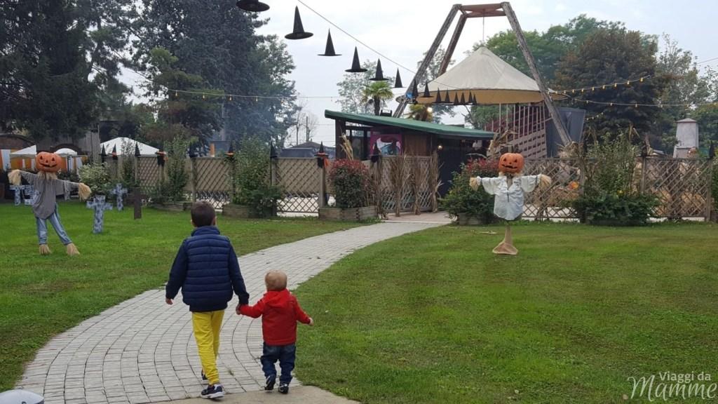 Aquaneva Inzago: festeggiare Crazy Halloween con bambini -ingresso-