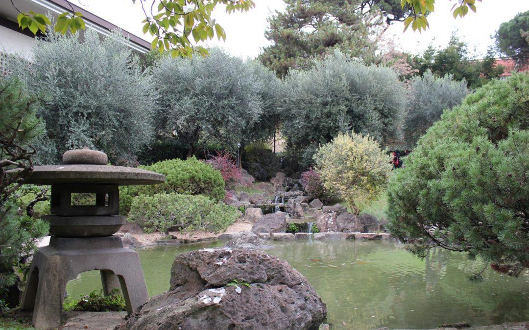 Un giardino giapponese nel cuore di Roma