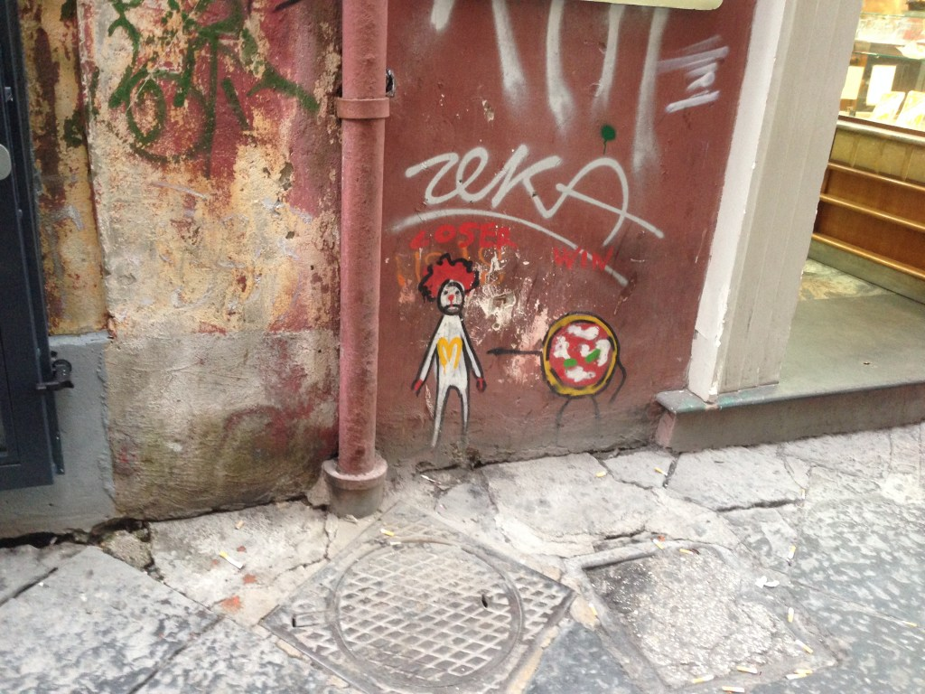 Street art a Spaccanapoli