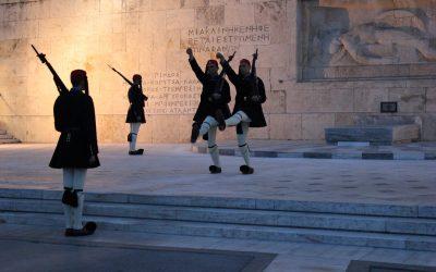 Il cambio della guardia di Piazza Syntagma, Atene – Foto