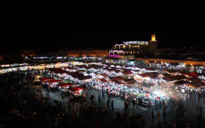 Jemaa El Fna di notte