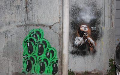 Street art al Pigneto, una serata per respirare arte