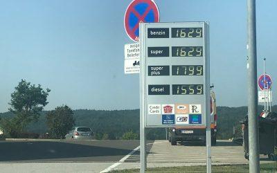 Prezzi della benzina in Austria, la nostra esperienza