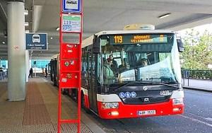 Come muoversi a Praga, l'autobus 119 da e per l'aeroporto
