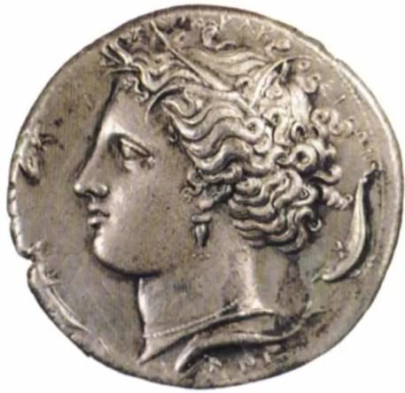 moneta aretusa medagliere museo paolo orsi siracusa