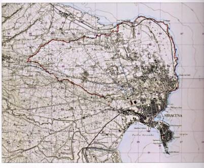 planimetria mura dionigiane siracusa