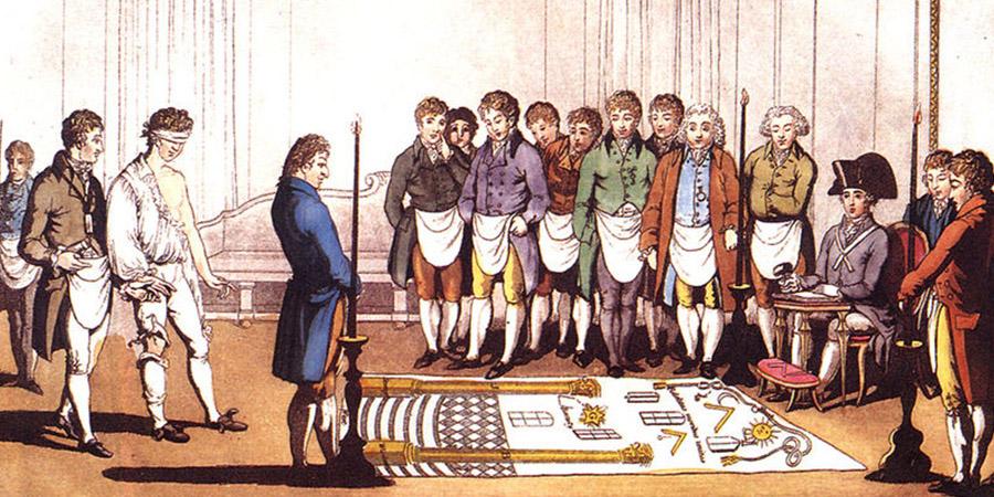 Il simbolismo occulto dei rituali di iniziazione