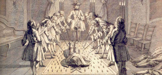 Rituali di Iniziazione Massonica