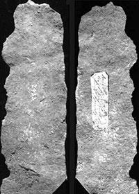 Piatto di Metallo in Ferro Battuto - Grande Piramide di Giza