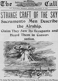 UFO - Articolo del 1896