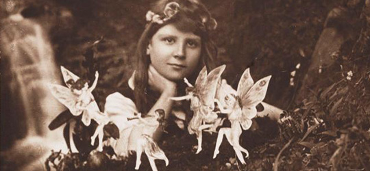Le incredibili foto delle Fate di Cottingley