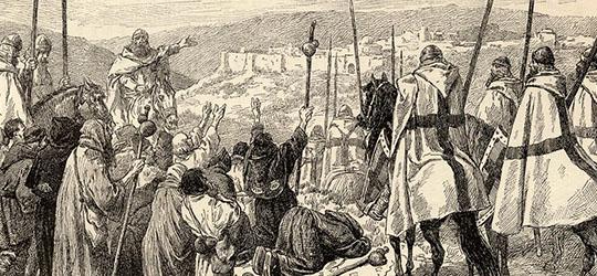 La fondazione dell'Ordine Templare