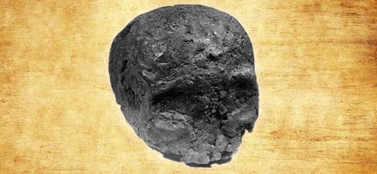 Il misterioso teschio di carbone di Freiberg