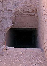 Tomba KV55 - Ingresso