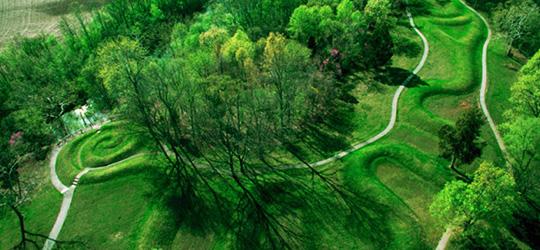 Il tumulo del Grande Serpente in Ohio