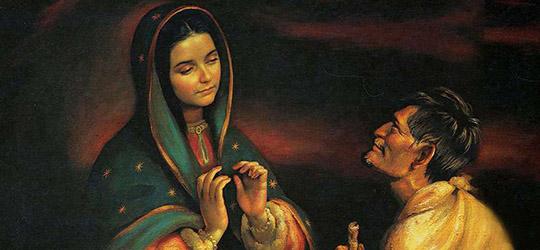 Juan Diego - Vergine di Guadalupe