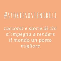 #storiesostenibili