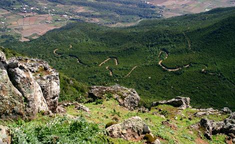 Sentieri da trekking a Pantelleria