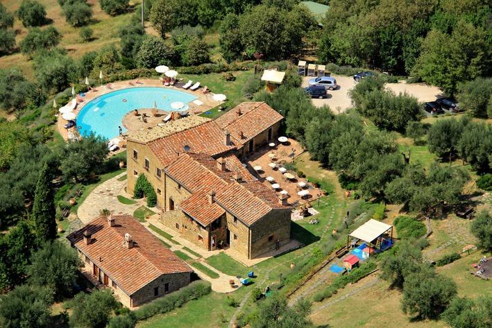 agriturismo biologico in Umbria