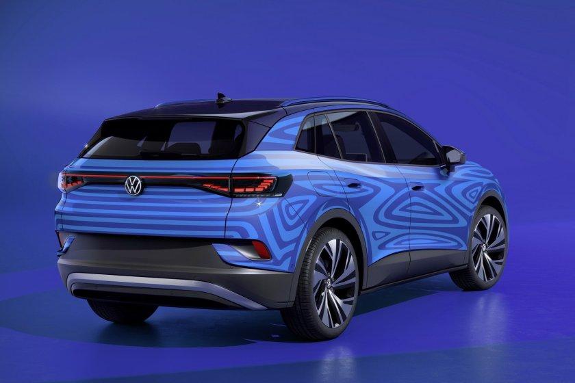 SUV 100% elettrico di Volkswagen